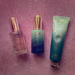 Set of 2 Milani Face Oils and Prepping Mask